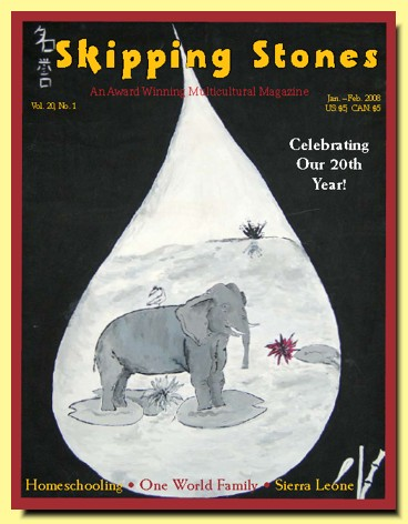 Skipping Stones, Volume 20, Issue 1, January-Febuary, 2008