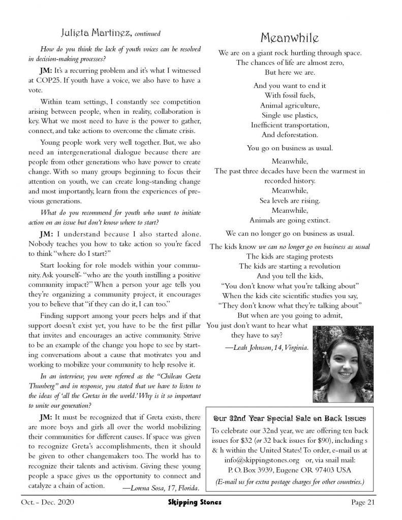 Julieta Martinez interview 2